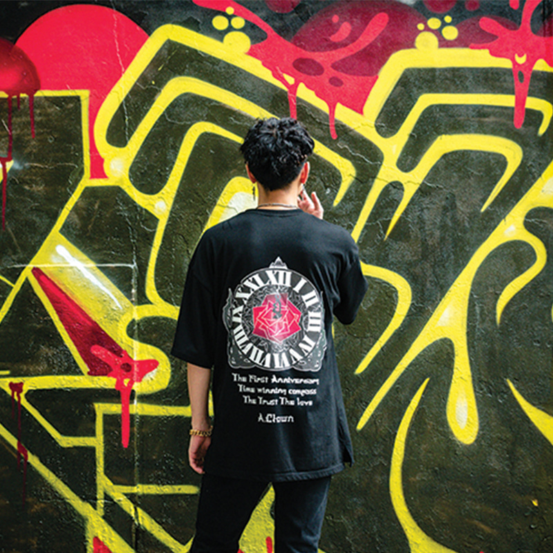 The First Anniversary Compass Half-Tee