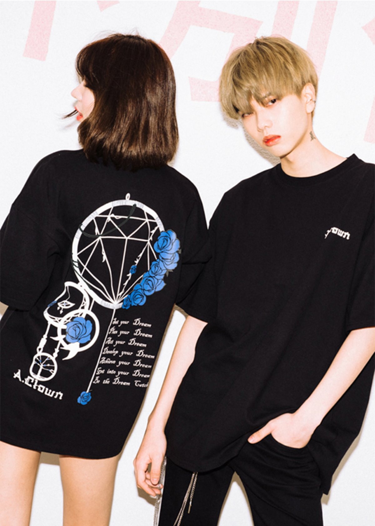 Dream Catcher Half-Tee BLACK