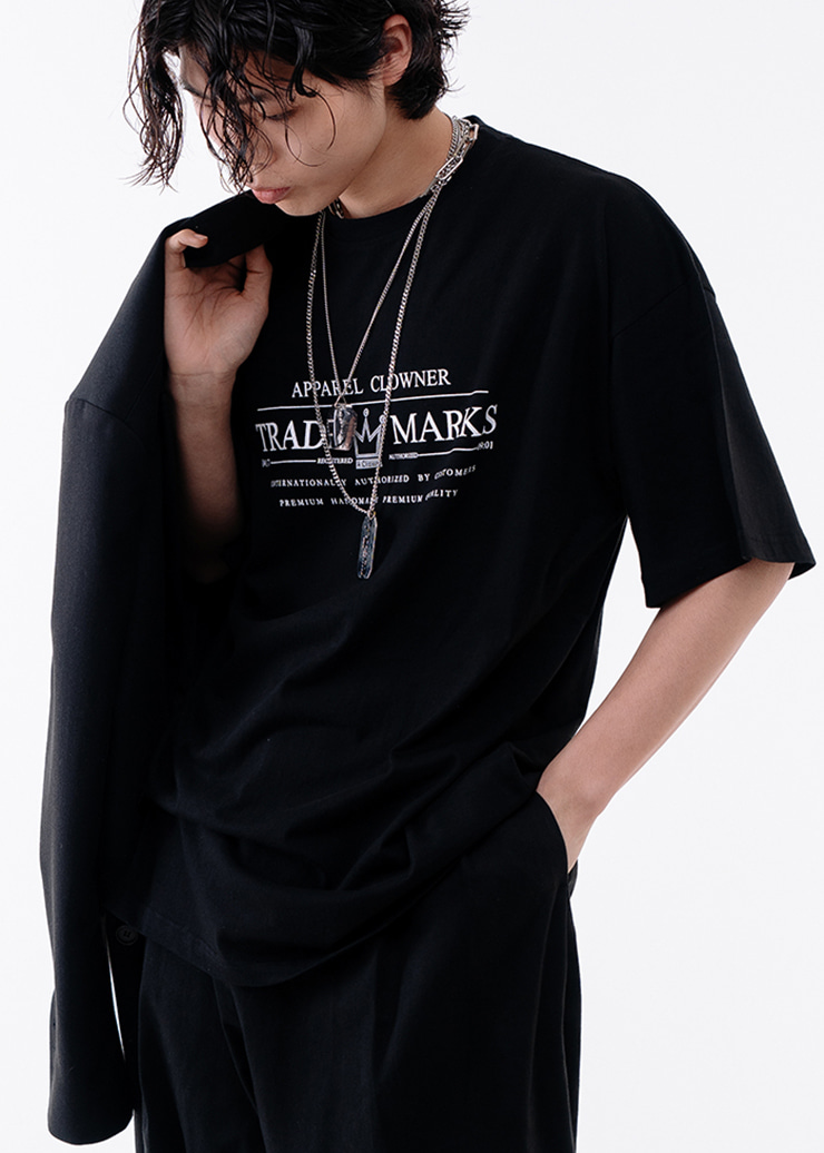 ACL Trade Logo Half-Tee BLACK