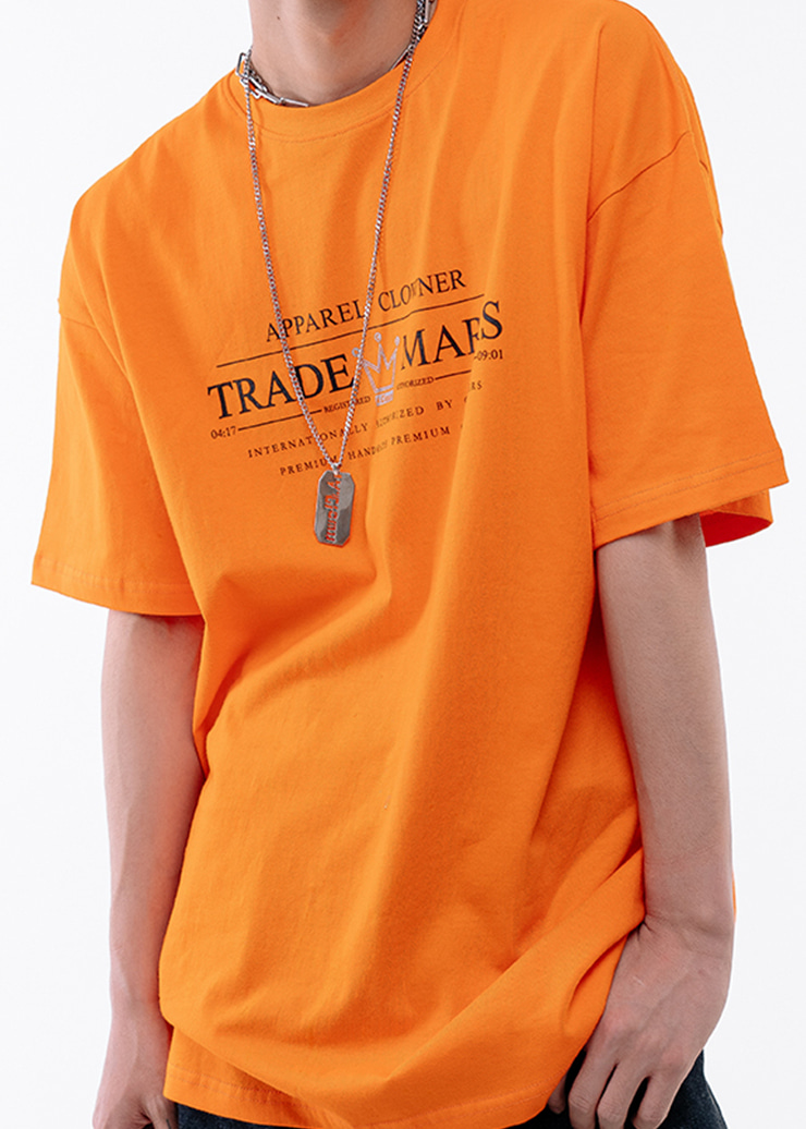 ACL Trade Logo Half-Tee ORANGE