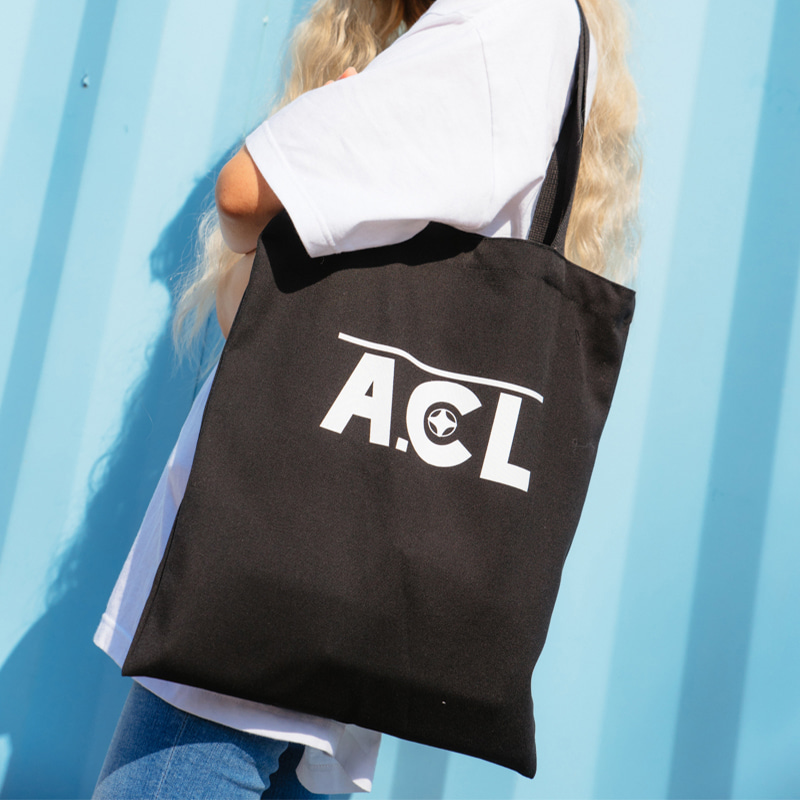A.CL Basic Logo Eco-BAG BLACK
