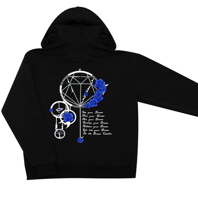Dream Catcher BLUE ROSE Hoodie