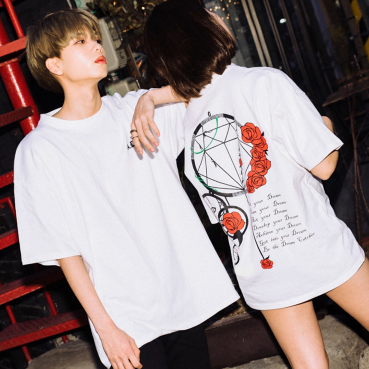 Dream Catcher Half-Tee WHITE