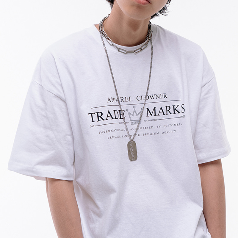 ACL Trade Logo Half-Tee WHITE