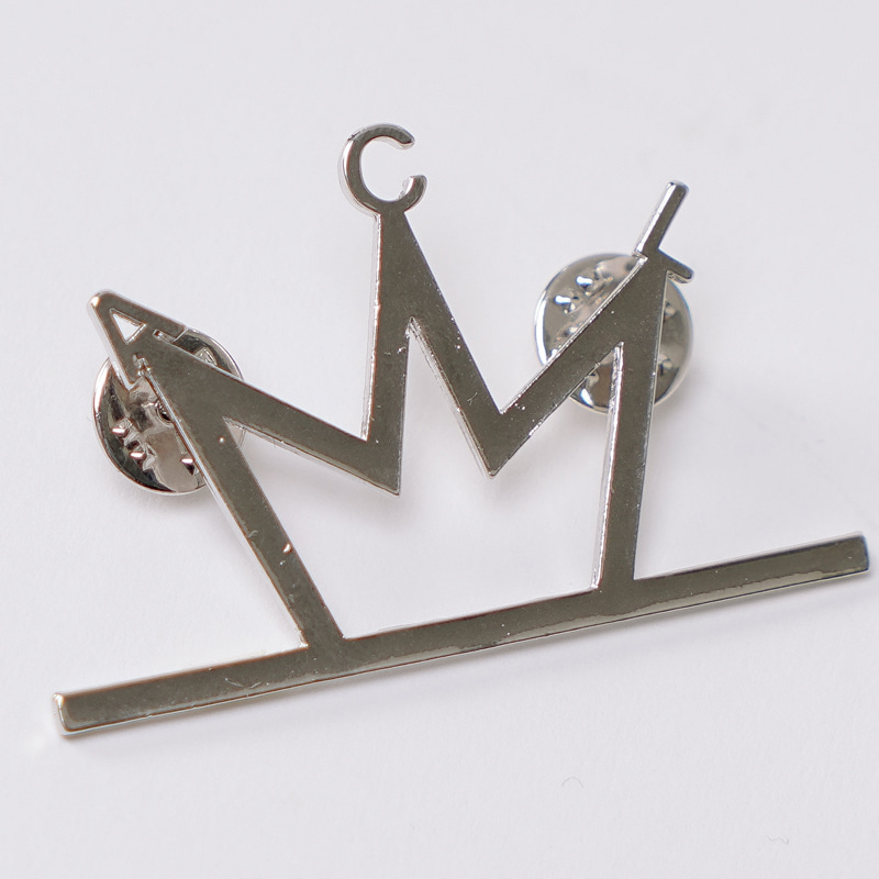 ACL CROWN LOGO BROOCH (브로치)